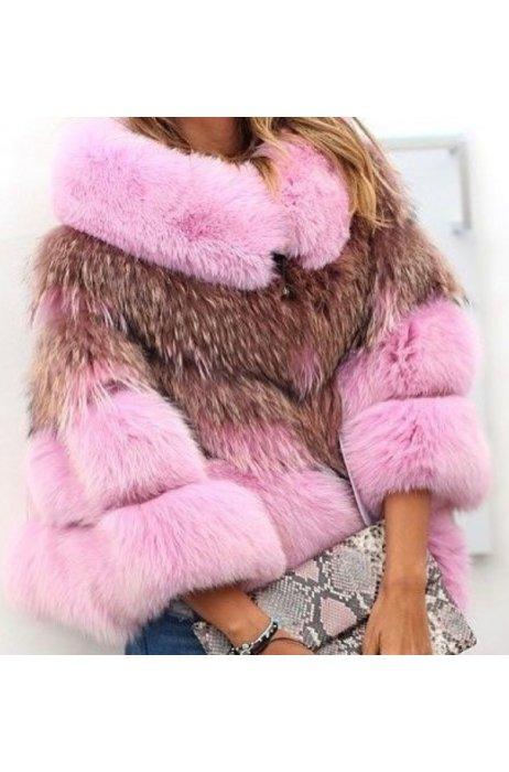Nový model/ fashion kožešinový kabátek