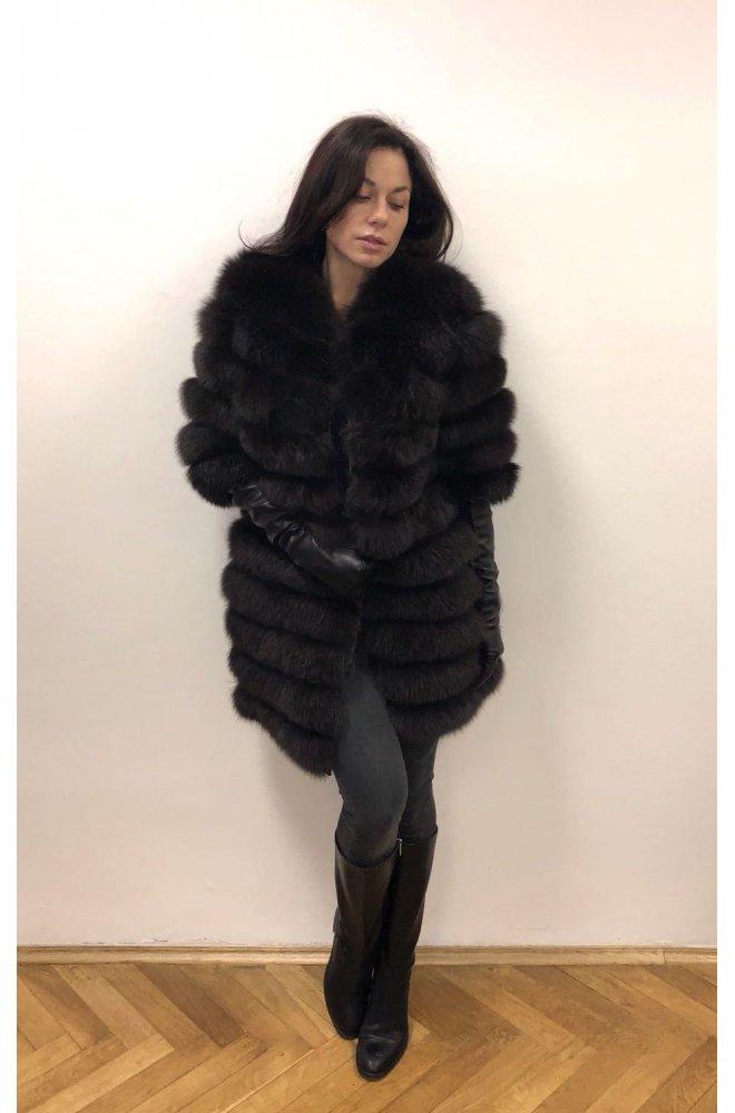 Kožešinový kabátek z lišky 4v1 - Sienne.cz 6f0bd96b6e