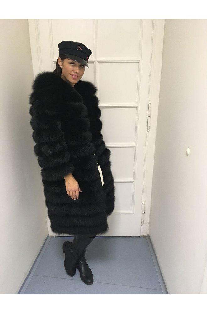 Kožešinový kabátek 5 v 1 na zip z lišky - Sienne.cz 08b04750cf