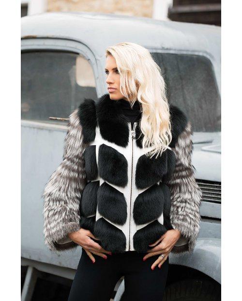 New model / Fashion Kožešinová bunda z lišky