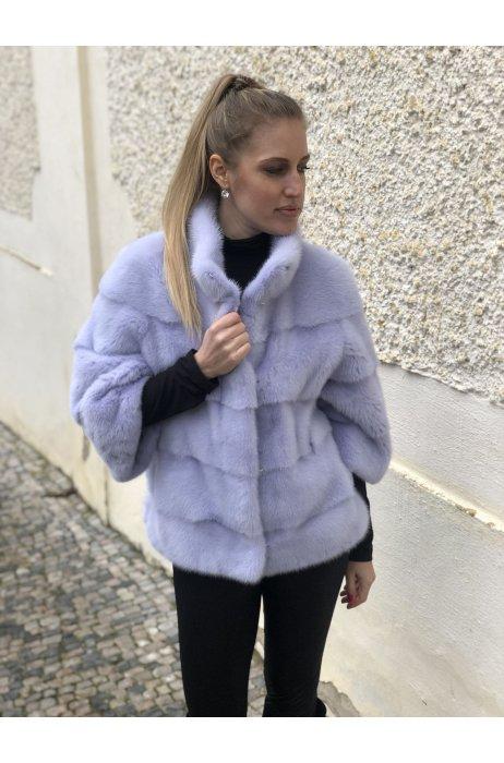 Norková lila kabátek Nafa