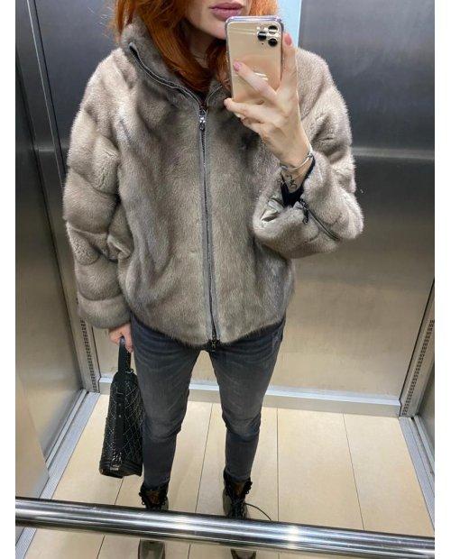 Norková nafa fashion bunda se zipem