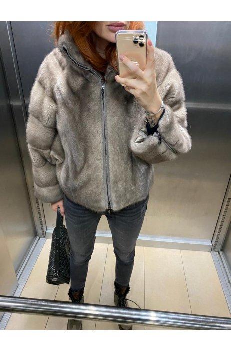 Norková fashion bunda se zipem