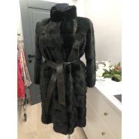 Norkový dlouhý kabát