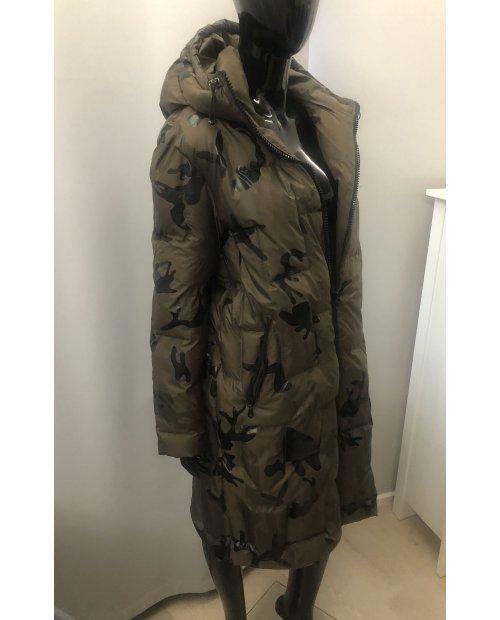Péřová dlouhá bunda Oversized