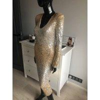MET - Flitrové dlouhé šaty s výstřihem