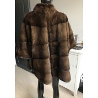 Norkový kabátek - přírodní