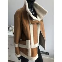 Zimní ovčí vytepplený kabátek
