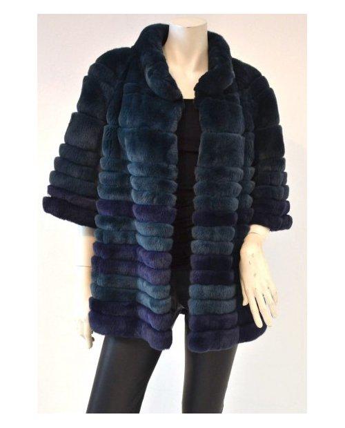Kožešinový kabát Rex Rabit