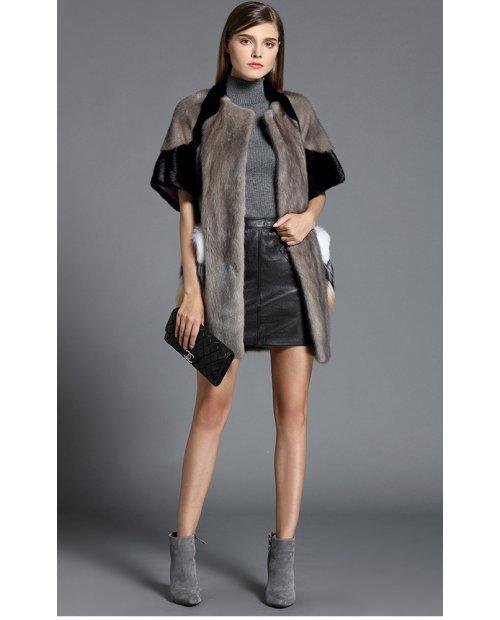 Fashion norkový kabátek