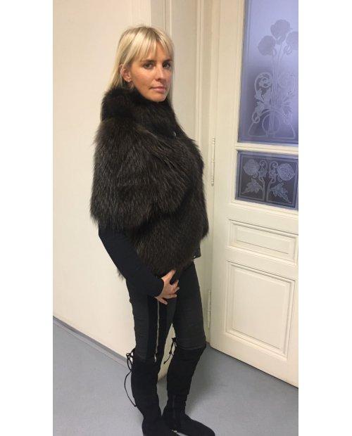 Fashion kabátek  z mývala