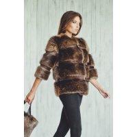 Bobr kožešinová bunda/kabátek