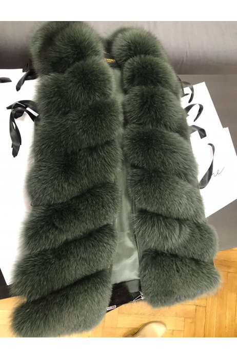 Nový model / Kožešinová vesta