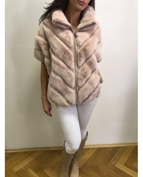 Kožešinový kabátek Rex Rabit