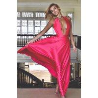 Okouzlující šaty z hedvábí