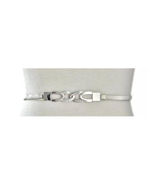 Fashion elastický kovový pásek se sponou